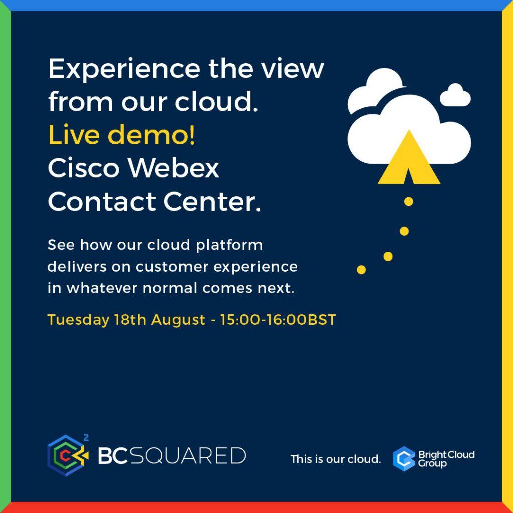 BCSquared Cisco Webex Contact Centre Demo